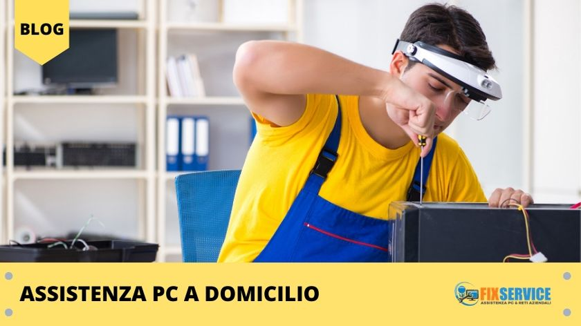 Assistenza pc a domicilio
